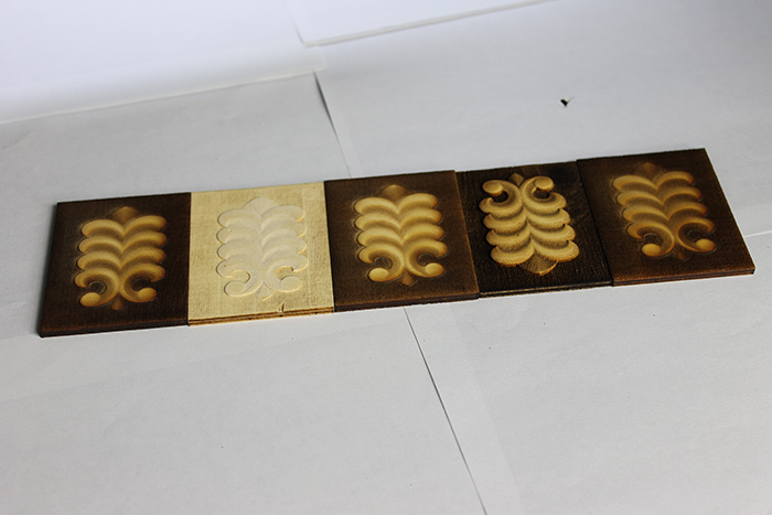 Various patterns 3d-Engraving laser engraver