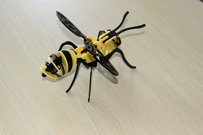 Acrylic bee laser cutter