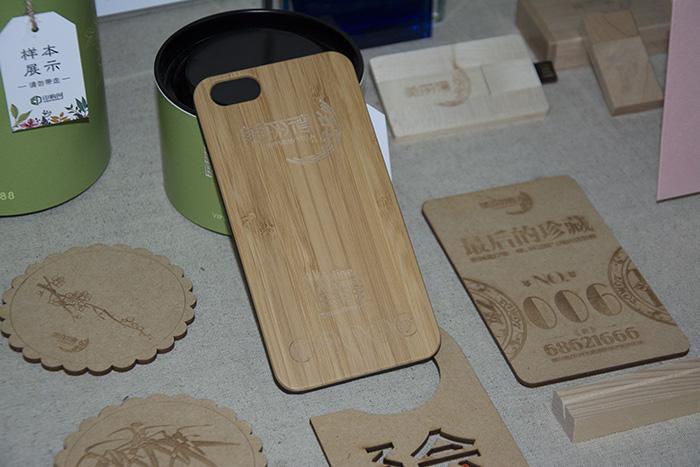 cellphone case Bamboo laser engraver