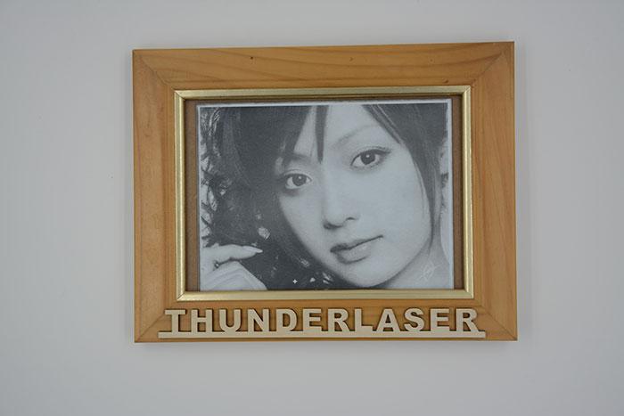 portrait Double-Color-Abs laser engraver