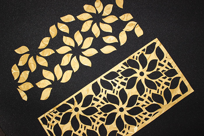 Pattern Fabric-Leather laser cutter