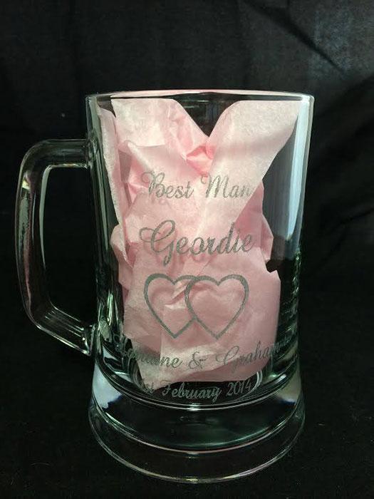 tea cup Glass laser engraver