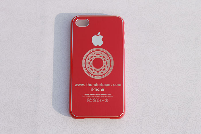 red Mobile-Phone laser engraver