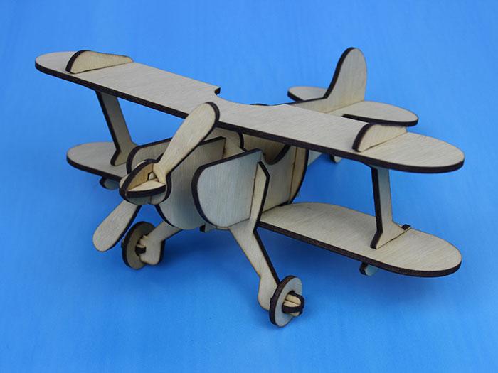 air plane Model laser cutter