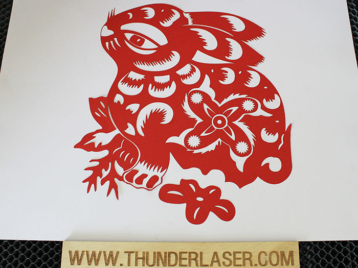 rabbit Paper laser cutter