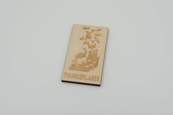 wood Signage laser engraver