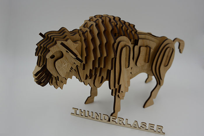 wood sheep laser cutter