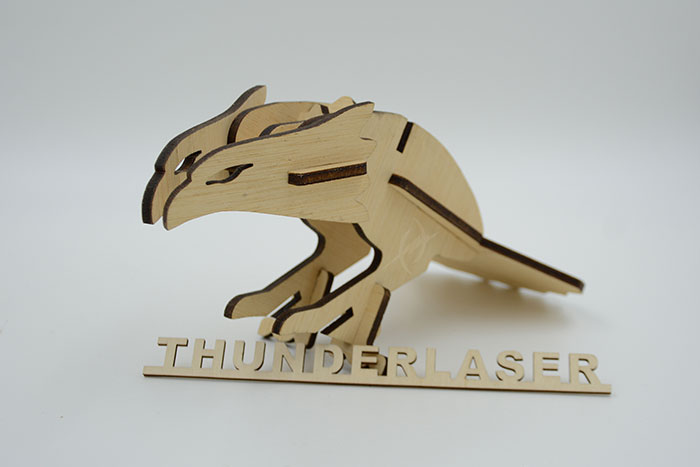 wood eagle laser cutter