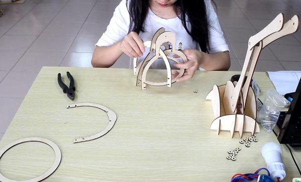 wood laser cutter
